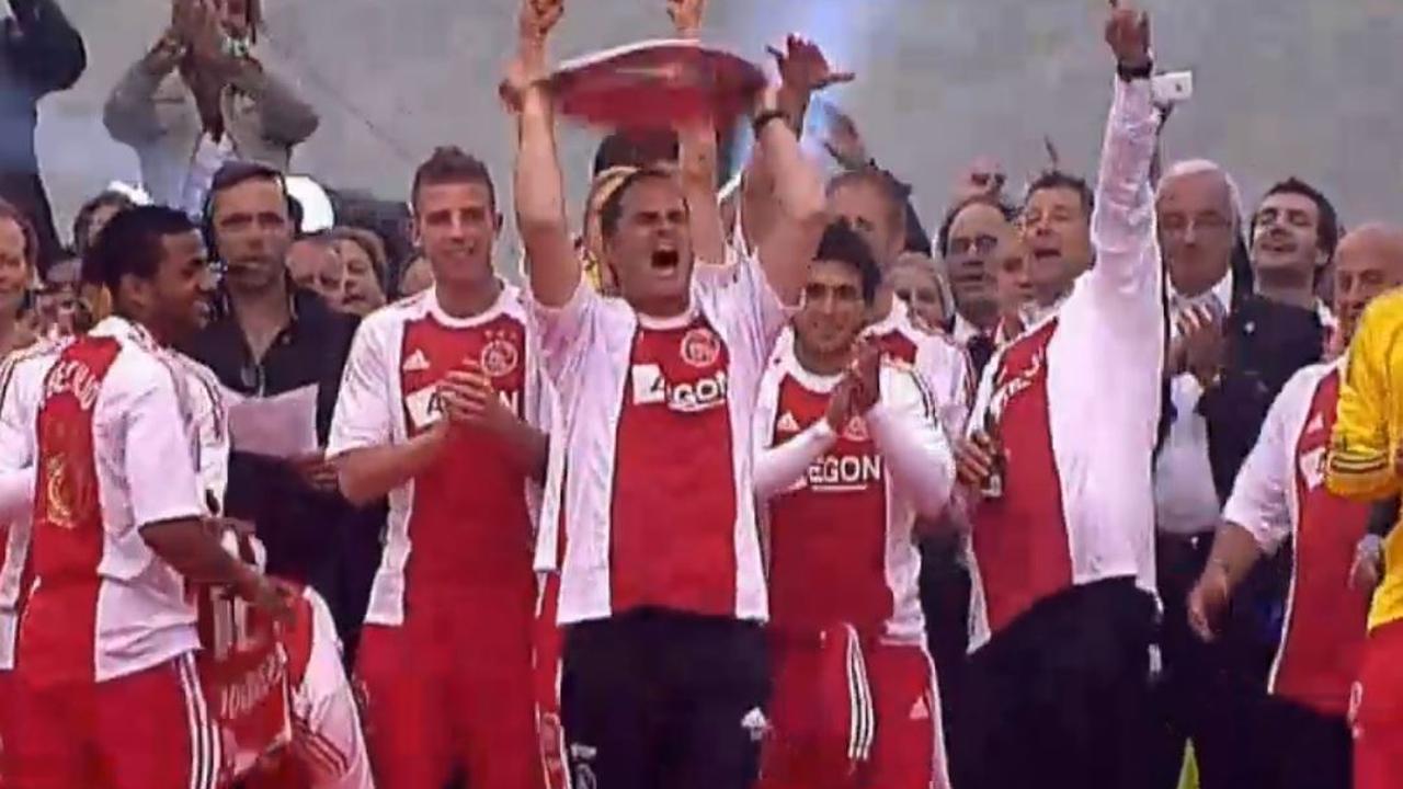 Zes jaar Frank de Boer bij Ajax