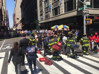 Autoriteiten gaan uit van een ongeluk, geen terrorisme
