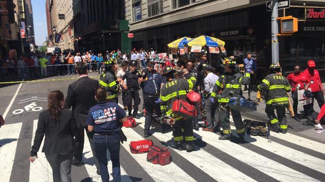 Dode bij aanrijding op Times Square in New York