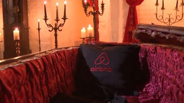 Airbnb biedt nacht in kasteel Dracula aan