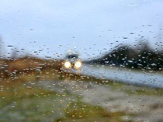 Veel bewolking en regen voorspeld