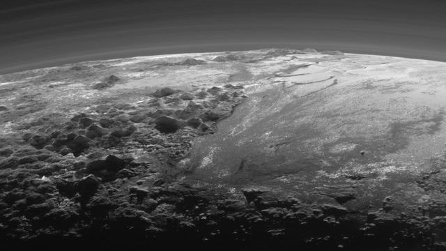 'Ondergrondse oceaan op Pluto ontdekt'
