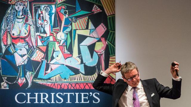 Werk Picasso levert hoogste veilingbedrag in 2015 op