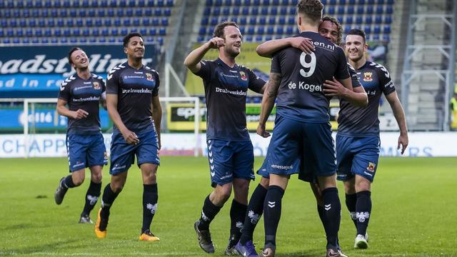 Go Ahead Eagles stelt vijfde plaats in Jupiler League veilig