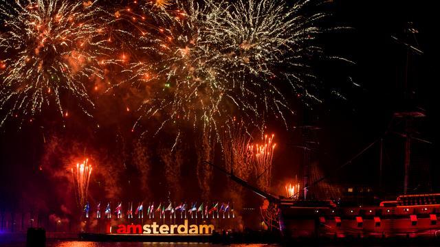 Jaarwisseling 'relatief rustig' verlopen in Amsterdam