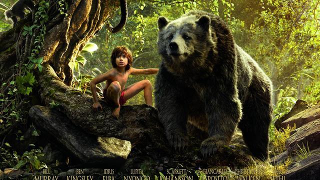 Nieuwe Jungle Book doet het goed in de bioscopen