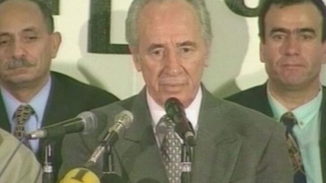 Shimon Peres op 93-jarige leeftijd overleden