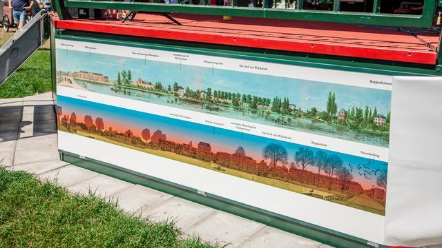 Nieuwe panorama om muziektent in Park Lepelenburg onthuld