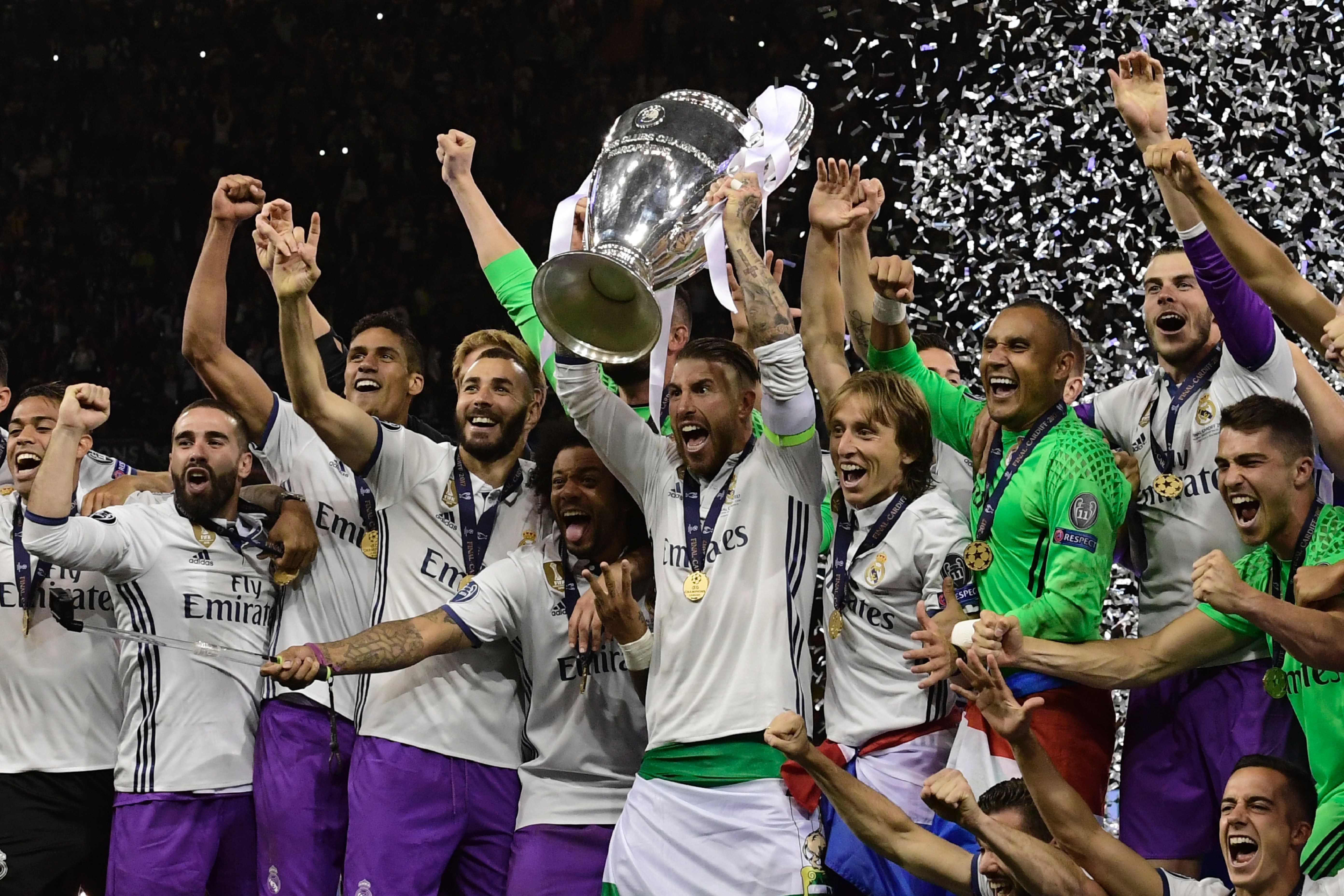 Real Madrid schrijft historie met tweede Champions League-winst op rij