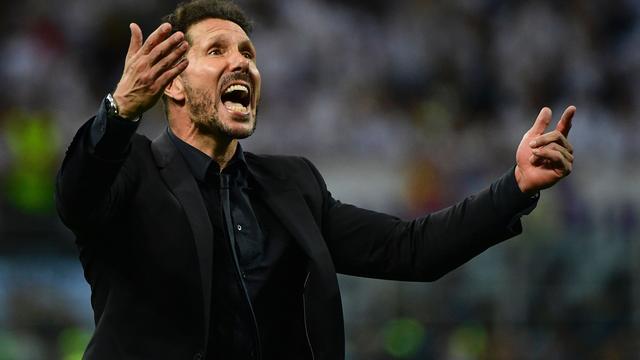 Simeone blijft trainer van Atletico Madrid