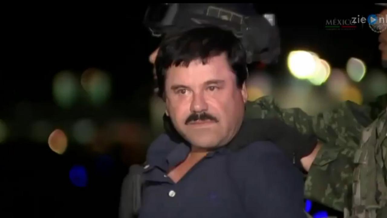 Ontsnapte drugsbaas 'El Chapo' weer opgepakt