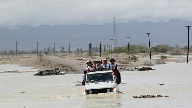 Zeker 35 doden door overstromingen in Iran