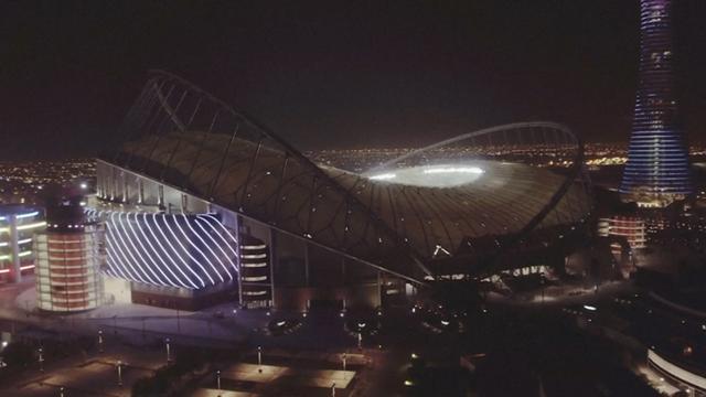 Dit is het eerste stadion voor het WK in Qatar dat klaar is voor gebruik