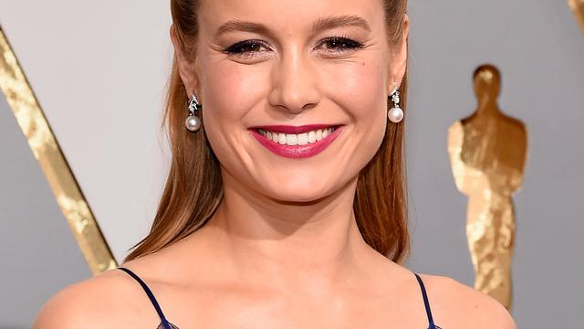 Brie Larson in gesprek over rol Captain Marvel