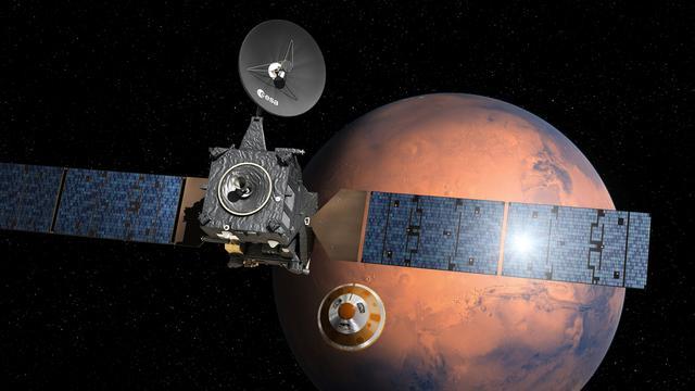 Europese Marslander Schiaparelli neergestort op Mars
