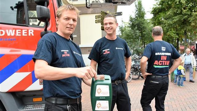 Leidse brandweer in actie voor betere oude-dag-regeling