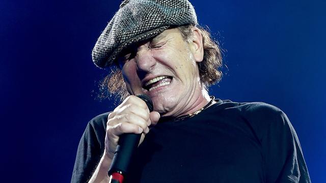 AC/DC stopt tournee vanwege gehoorproblemen zanger