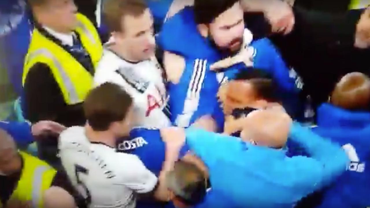 Costa, Rose en Vorm in gevecht na wedstrijd