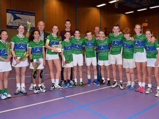 Korfballers plaatsen zich voor Nederlands Kampioenschap