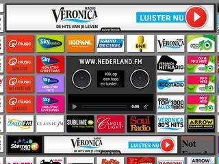Site hoeft niet te betalen voor embeds van radiozenders