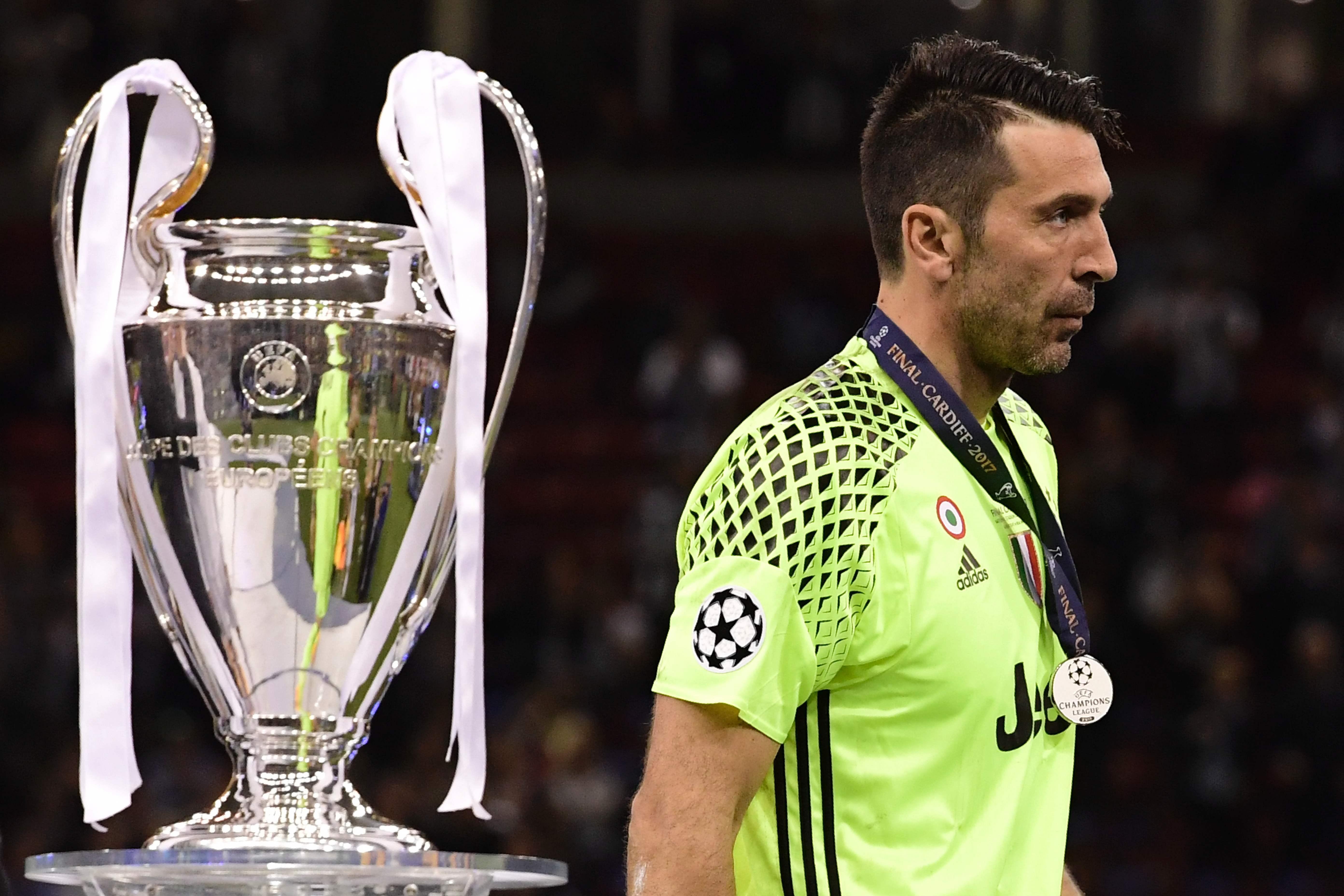 Buffon kan inzinking Juventus in tweede helft niet verklaren