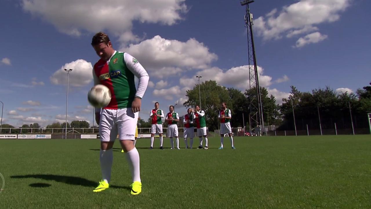 'Maradona van Schiedam' scoort drie keer achter elkaar