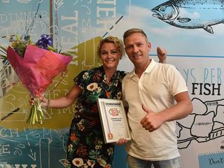 De visspecialist maakt ook kans om de 'beste kibbeling van Nederland' te hebben