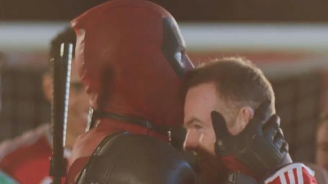 Spelers Manchester United in teaser van de film Deadpool