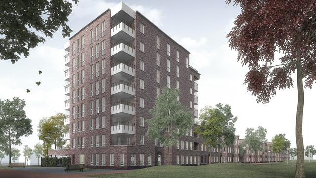 Bouw 99 huurwoningen in Churchillpark van start