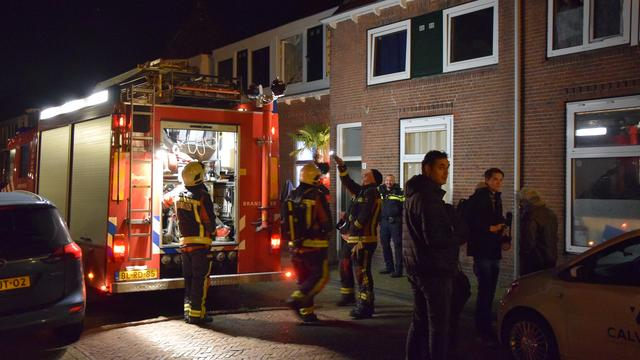 Woningbrand door waterbed
