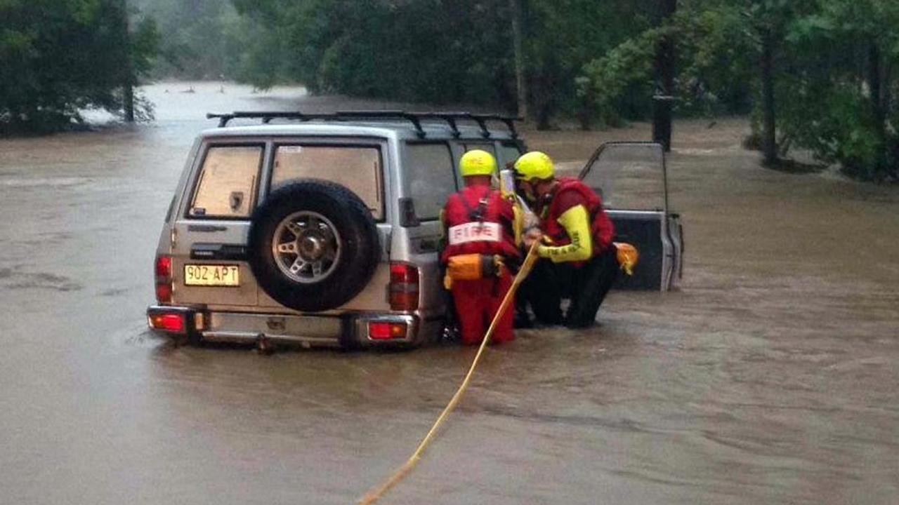 Timelapse van overstromingen in Australië