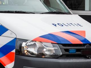 Auto heeft tijdens achtervolging boom geramd