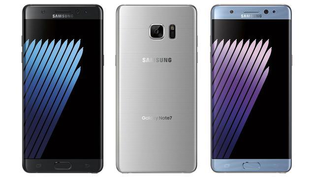 Gelekte afbeeldingen tonen Samsung Galaxy Note 7