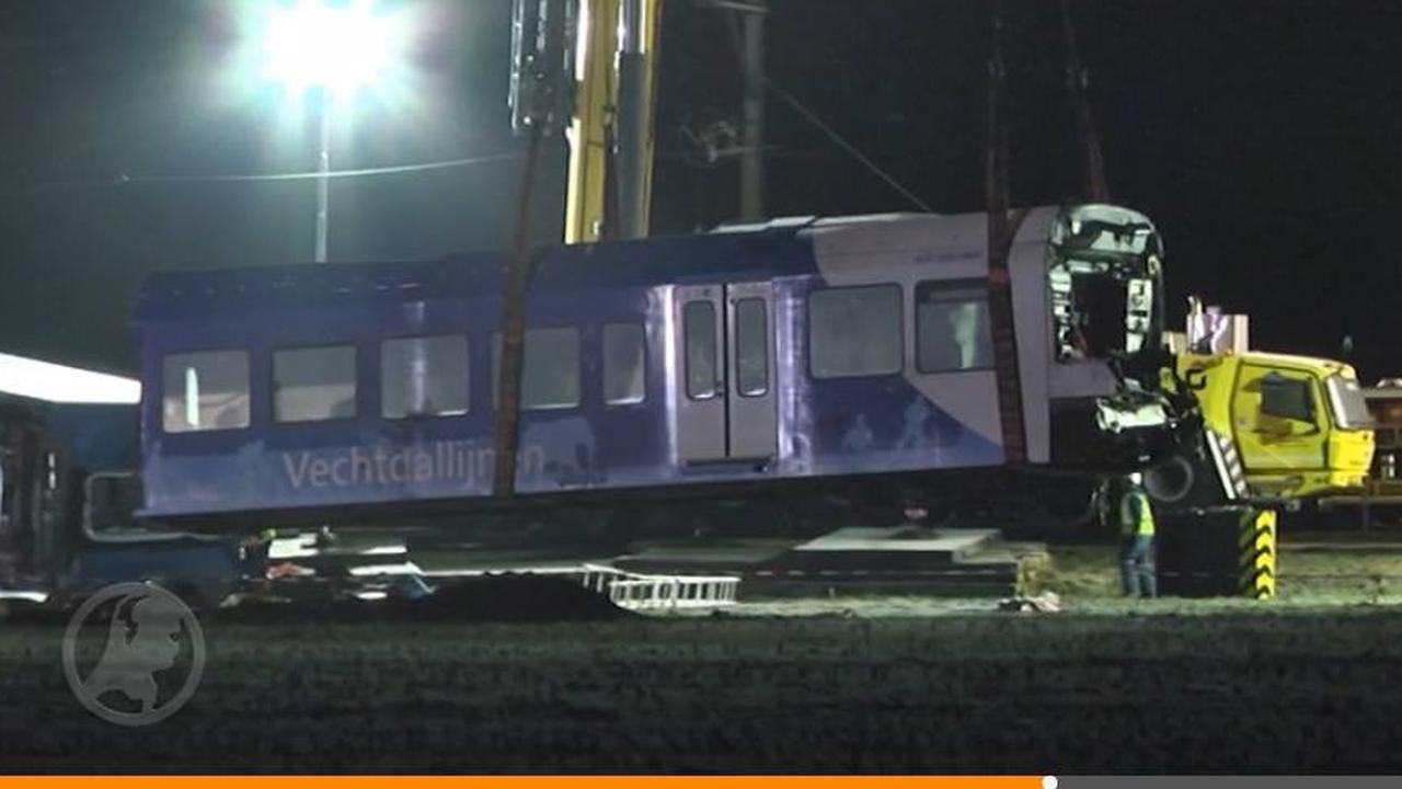 Treindelen verongelukte trein bij Dalfsen weggetakeld