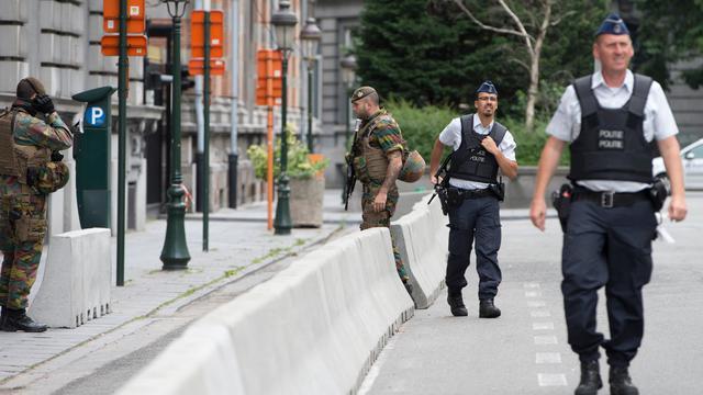 Twee terreurverdachten vast voor machete-aanval België