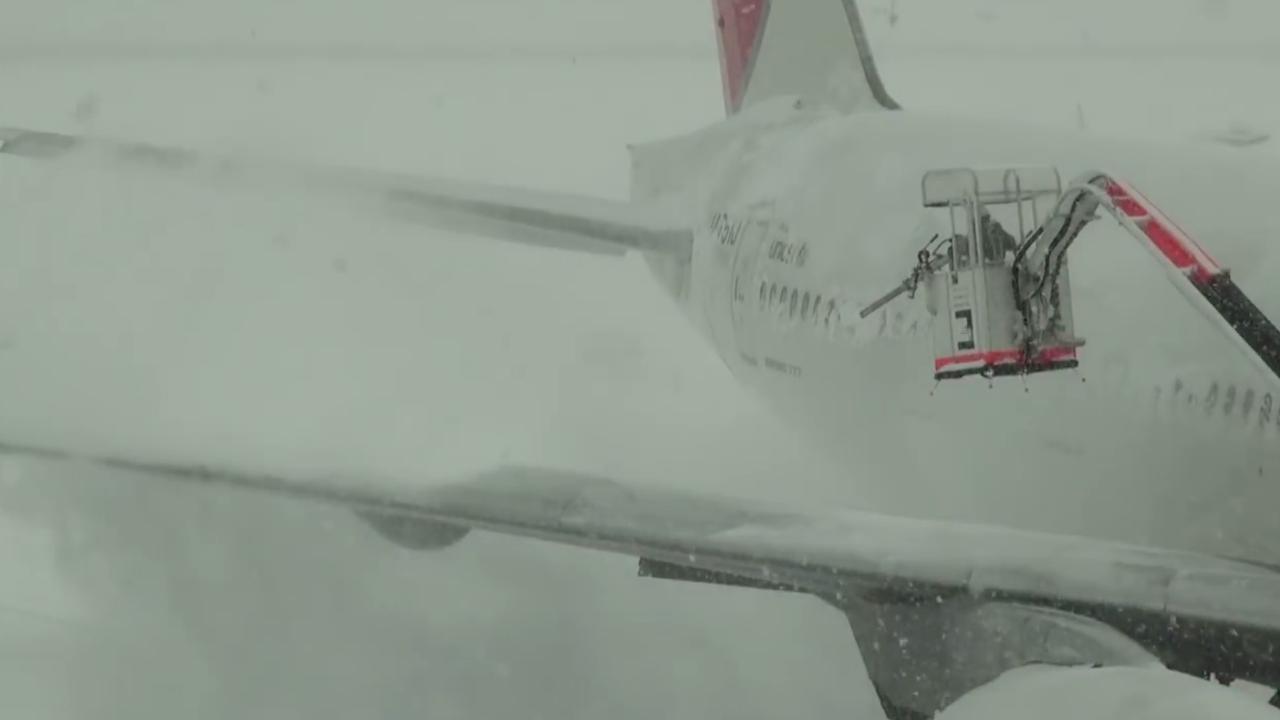 Waarom vluchten geannuleerd worden bij winters weer