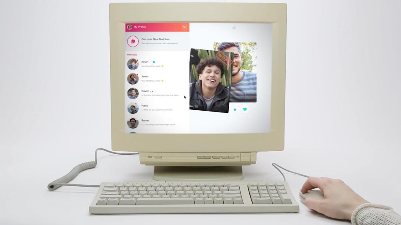 Tinder toont hoe gebruikers op desktop kunnen 'swipen'