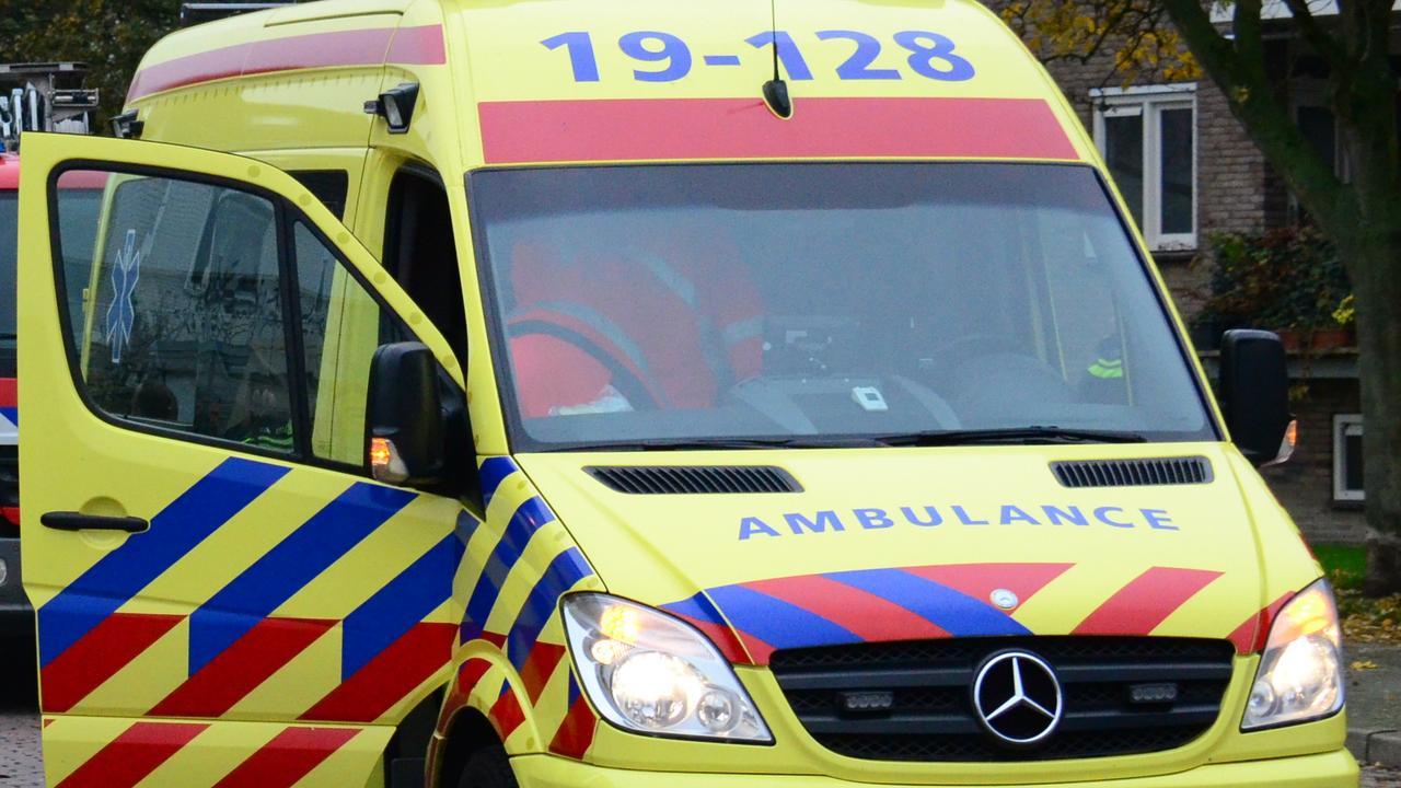 Hulpdiensten rukken massaal uit voor klein incident met glijbaan