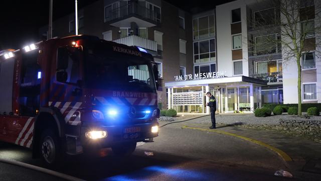 Dode door grote brand in seniorencomplex Landgraaf