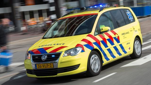 Drie auto's ernstig beschadigd na kop-staartbotsing afrit A10