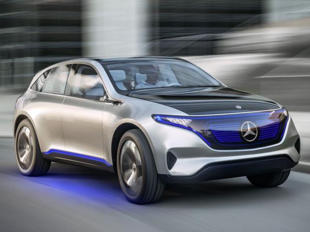 Mercedes wil tien elektrische modellen introduceren voor 2022