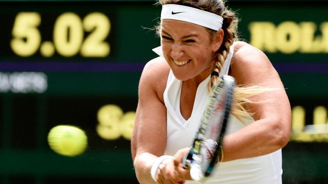 Azarenka wil halfjaar na geboorte zoon meedoen aan Wimbledon