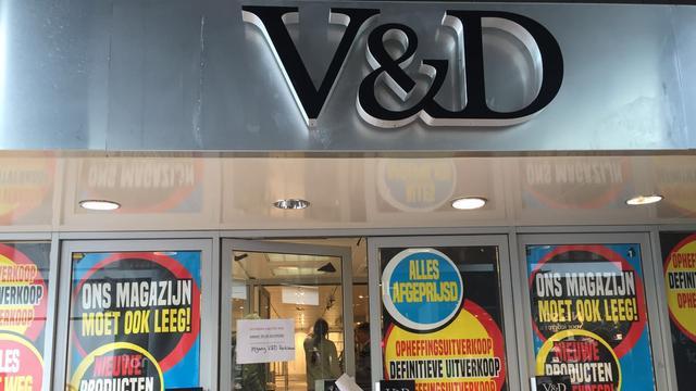 V&D-pand in Alphen wordt waarschijnlijk gesloopt