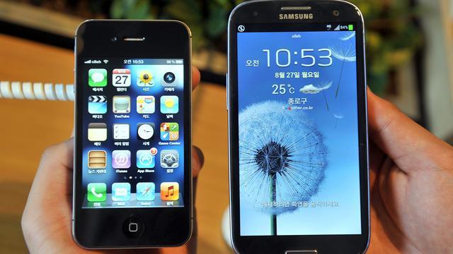 Apple wint verkoopverbod op oudere Samsung-smartphones in VS