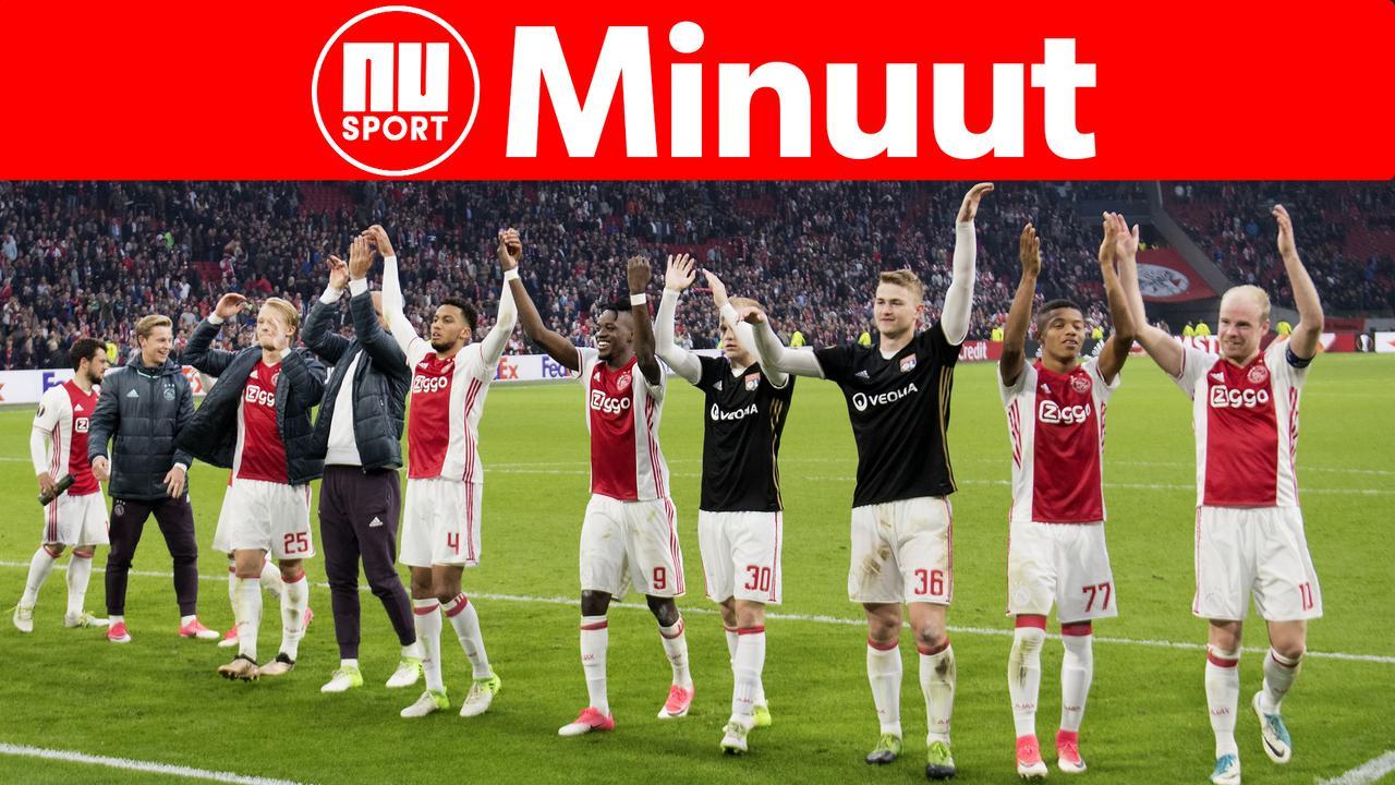 Vooruitblik: Ajax gaat voor finale en Verstappen kijkt uit naar GP Spanje