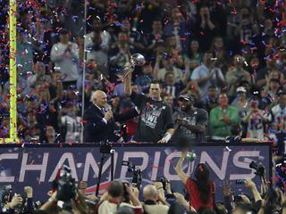 Ploeg van quarterback Tom Brady te sterk voor de Atlanta Falcons