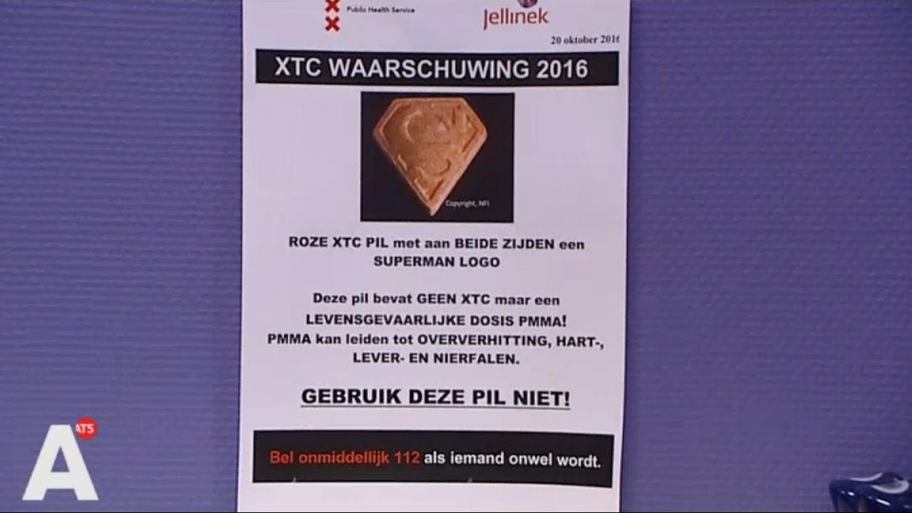 Trimbos waarschuwt voor XTC-pil