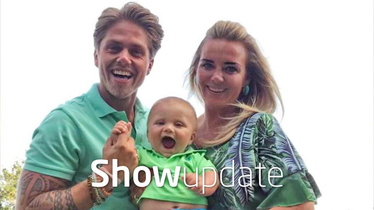 Show Update: André Hazes en zoon samen op de foto