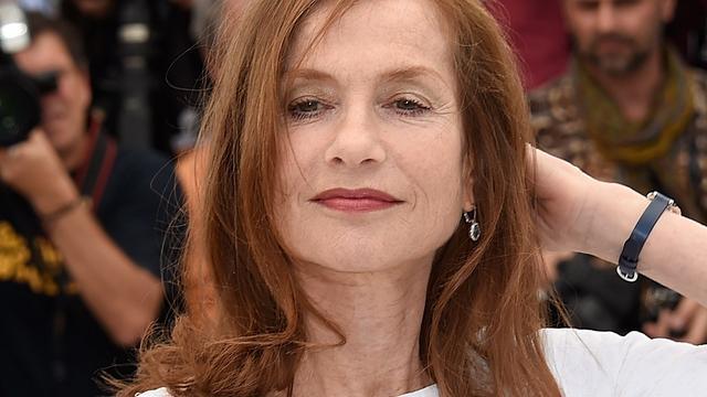Elle-actrice Isabelle Huppert prijst ironie van Paul Verhoeven