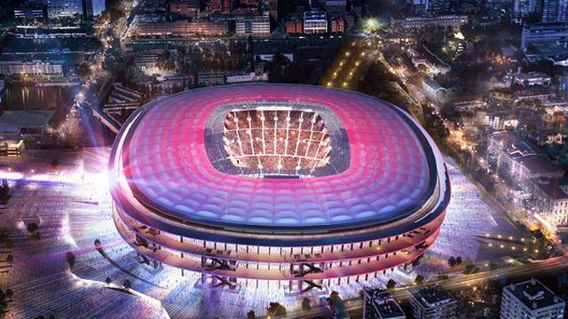 Barcelona breidt capaciteit Camp Nou uit naar 105.000 toeschouwers